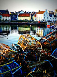 Fife Harbor - St. Monan's, Scotland