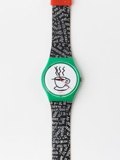 Vintage Swatch Cappuccino Watch.   I want one of these.  Too cute!