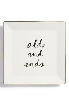 'daisy place - odds & ends' tray by Kate Spade New York #poachit