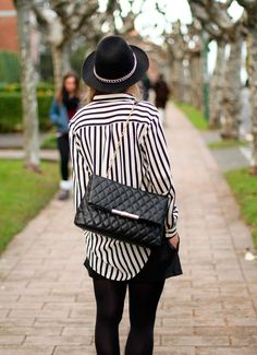 Quilts & stripes.
