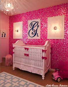 Girls Nursery Room