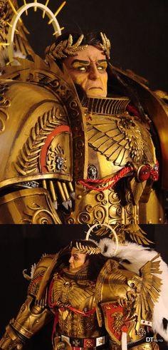 The Emperor of Mankind 03 by DamienThevenin on deviantART
