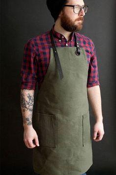 Resultado de imagen para triangle leather cooking apron