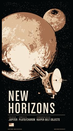 SUPPORT US ON KICKSTARTER JUNE 21 - AUGUST 11, 2015: Historic Robotic Spacecraft Poster Series Two featuring New Horizons at #Pluto, Rosetta's exploration and landing on a comet and Galileo in the Jupiter System. Link: http://kck.st/1efdDXl