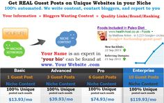 Real Guest Posts provides guest blog posting services for ultra white hat link building and brand marketing.