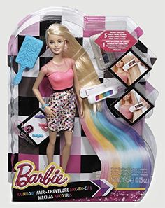 http://www.amazon.com/Barbie-CFN48-Rainbow-Hair-Doll/dp/B00N4UJJVE/ref=as_sl_pc_ss_til?tag=barbie024-20