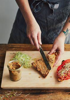 Raw Food Recipes, Meat Recipes, Vegetarian Recipes, Cooking Recipes, Healthy Recipes, Confort Food, Tempeh, Tofu, Healthy Menu