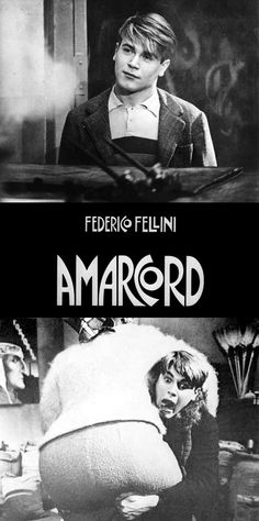 Amarcord is a 1973 Italian comedy-drama film directed by Federico Fellini  https://en.wikipedia.org/wiki/Amarcord