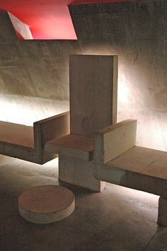 Image 27 of 34 from gallery of AD Classics: Church at Firminy / Le Corbusier. Photograph by Richard Weil Sacred Architecture, Religious Architecture, Church Architecture, Classical Architecture, Architecture Details, Interior Architecture, Chinese Architecture, Futuristic Architecture, Interior Design