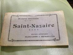 Ships Buildings 1900 WW1 era FRANCE french Saint Nazaire POSTCARD set/book 19/24