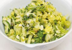 Update to Jamie Oliver's green chopped salad