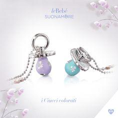 I Ciucci colorati, in argento e smalto. leBebé Suonamore, il gioiello dedicato alle mamme in attesa. :) http://www.lebebe.eu/it/collezioni/i_Ciucci_colorati #fieradiesseremamma #lebebé #suonamore #gioielli #mammeinattesa #chiamaangeli