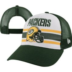 c326f0ae9dd160 NFL Green Bay Packers Spiral Stripe 940 Cap, Green, One Size Fits All by