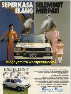 seperkasa elang,selembut merpati,,,,,    #advertism #poster #old #skool #indonesian #art #design #honda School Advertising, Vintage Advertising Posters, Old Advertisements, Vintage Posters, Vintage Ephemera, Vintage Ads, Old Commercials, Cute Japanese, Old Ads