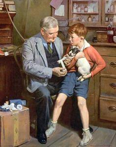 Arte Pinturas al Óleo: Figura Humana al Óleo, Harold N Anderson