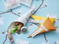 Papiertütchen für Bonbons