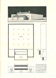 De Stijl  Vol. 3, no. 10 - Page 88a