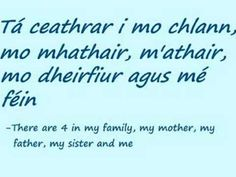 this is lesson 2 of the learn irish beginners series, lesson 3 is on the way. Irish Gaelic Language, Gaelic Words, Learn Welsh, Erin Green, Irish People, Irish Roots, Luck Of The Irish, Spelling, Homeschooling