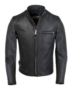 Tough enough to be worn hard on any V-Twin yet stylish enough for your modern Trumpet, the Schott 141 is a perfect fit off the bike as well. The jacket is ma...