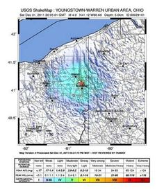Fracking is going on in PA too.........Confirmed: Fracking practices to blame for Ohio earthquakes - NBC News.com