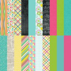 Party Brights Designer Cardstock