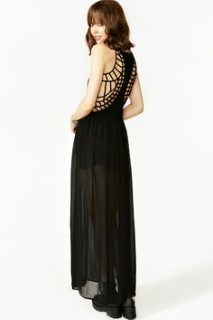 nasty gal. my way home maxi dress. #fashion