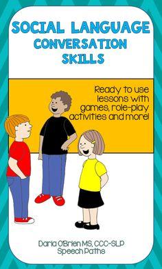 Get them talking  AND having fun! NO PREP activities,  worksheets & games; grades 4+