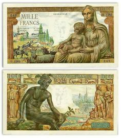 France Money Games, Old Money, Old Coins, Native Indian, Money Matters, Stamp Collecting, Bank Deposit, World, Stamps