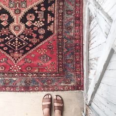 I have my mother in law to thank for my infatuation with rugs. I always had a great appreciation for her extensive collection and even benefitted from her loaners when my husband and I moved into our first apartment together. But it wasn't until we traveled to Turkey, where we splurged our first