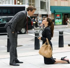 Ryan Reynolds & Sandra Bullock in The Proposal