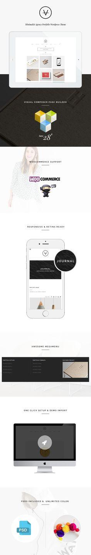 VAN – Minimalist Agency, Photo Gallery Shop Theme