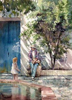 El Encanto Oculto De La Vida: Takashi Akasaka, Románticas Acuarelas Japonesas