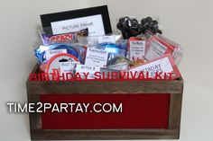 Getting Older Survival Kit! Totally doing this for the mother-in-laws birthday!