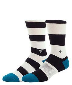 Die Socke Mariner des Labels Stance ist nicht nur stylish sondern auch aus leichtem und angenehmem Material gefertigt.