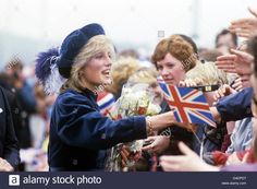 Princess Diana North East of England Visit