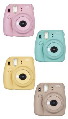 Lovely Pastel Colors  Instax Mini 8 Camera. Too cute! A must have for this holiday season. (Christmas gifts for tween girls)