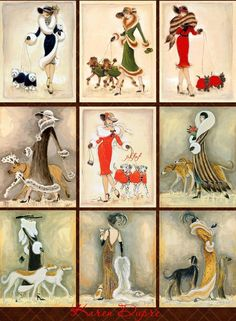 Collection of World Best Photos — Vintage Style Of The DAy Art Deco Illustration, Illustrations, Vintage Cards, Vintage Images, Images Victoriennes, Jugendstil Design, Art Deco Posters, Art Nouveau Design, Victorian Art