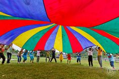 More parachute games for kids