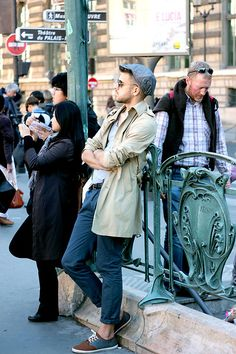 Just another day in PAris (by Oleg P.) http://lookbook.nu/look/4073970-Just-another-day-in-PAris
