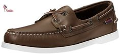 Sebago Docksides Mens, Marron (Brown Elk), 46 EUR - Chaussures sebago (*Partner-Link)