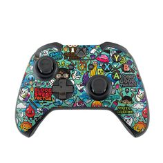 Microsoft Xbox One Controller Skin - Jewel Thief by JThree Concepts | DecalGirl http://www.decalgirl.com/skins/202432/Microsoft-Xbox-One-Controller-Skin-Jewel-Thief