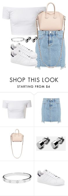 """""""Untitled #2587"""" by theeuropeancloset ❤ liked on Polyvore featuring Givenchy, Cartier and adidas"""