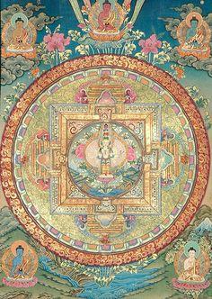 Karunamayi Mandala (The Mandala of Compassion)