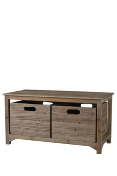 A nice idea for the entrance Dylan Storage Chest by Elk Lighting on @HauteLook
