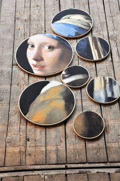 Wall decoration Girl with the pearl of Vermeer Johannes Vermeer, Christmas Lodge, House Of The Rising Sun, Works With Alexa, Wall Decor, Wall Art, Diy Interior, 2d Art, Home Deco