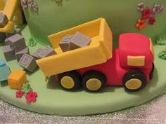 Emma's KakeDesign: Lastebil trinn-for-trinn