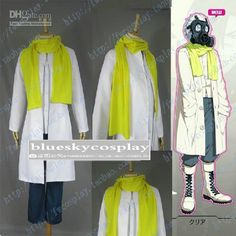 Dramatical Murder Clear Cosplay Costume custom any size