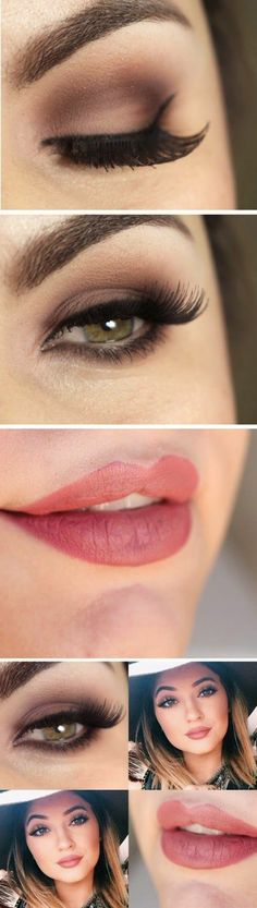 tuto maquillage yeux marrons, comment maquiller vos yeux