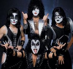 Kiss. One of my favorite bands in the 80s. I wore out Smashes, Thrashes, and Hits.