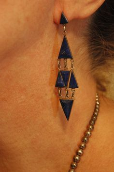 Beautiful+old+Zuni+Blue+Lapis+and+sterling+by+navajodreams+on+Etsy,+$340.00